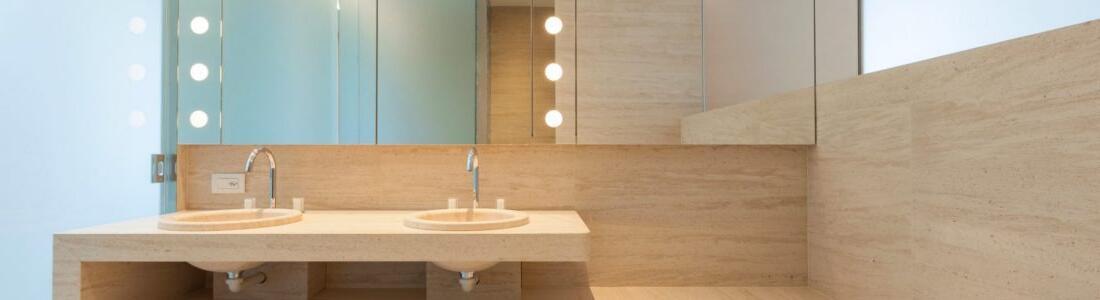 Applique neon salle de bain