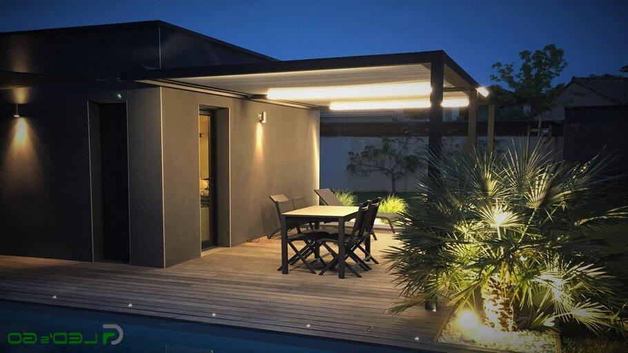 Néon extérieur pour terrasse