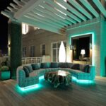 Neon extérieur terrasse