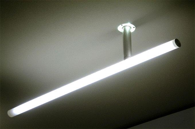 Quand est apparu le tube fluorescent ?