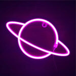 Tube néon chambre