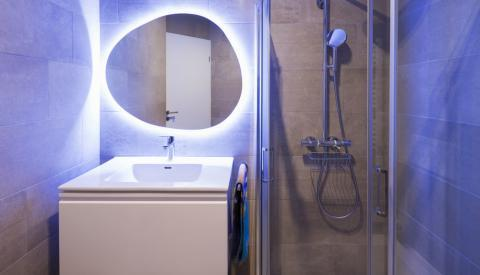 Quelle ampoule plafonnier salle de bain ?