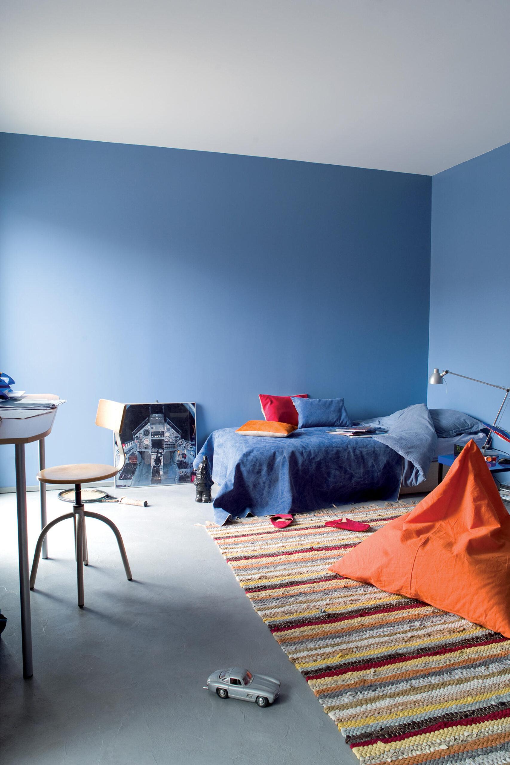 Quelle couleur pour la chambre d'un garçon ?