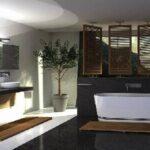 Quelle est la valeur de l'indice de protection minimal pour le volume 2 d'une salle de bain avec baignoire ?
