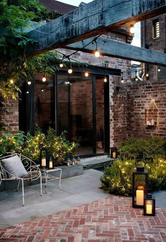 Quelle lumière pour éclairer une terrasse ?