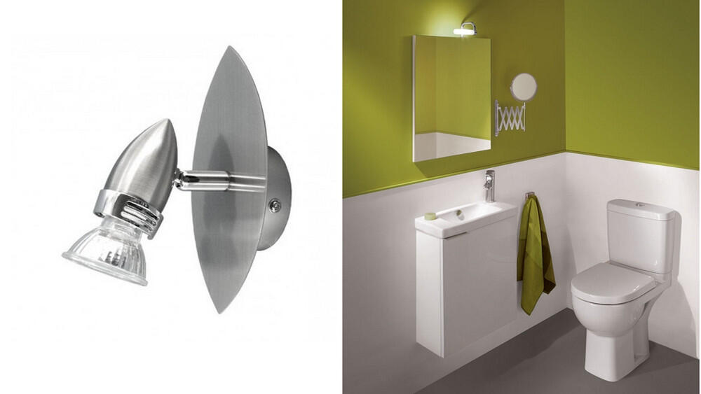Quelle puissance ampoule toilette ?