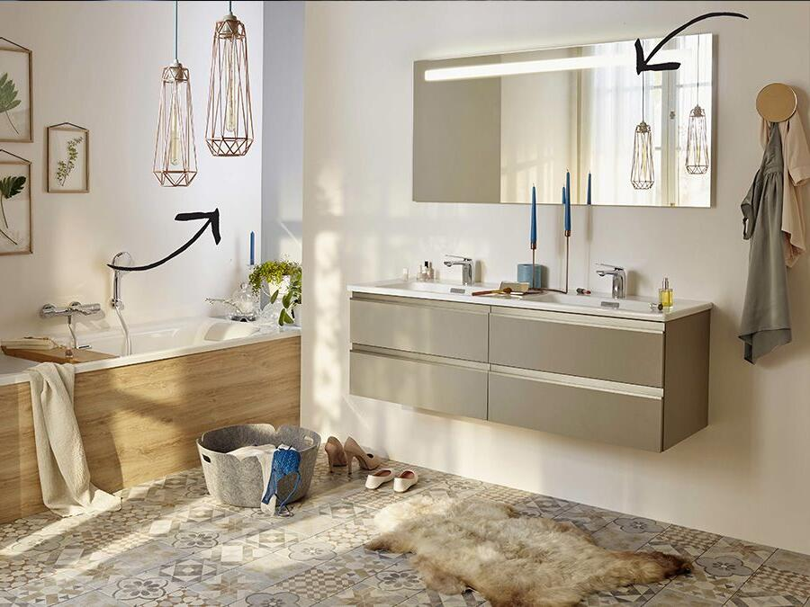 Quelle puissance pour l'éclairage de la salle de bain ?
