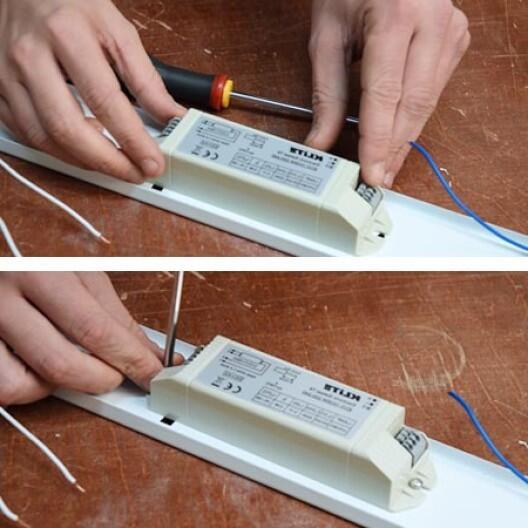 Comment enlever la grille d'un néon ?