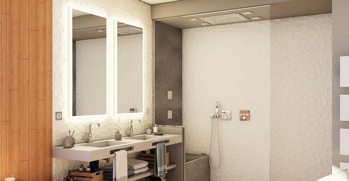 Comment positionner ses spots salle de bain ?
