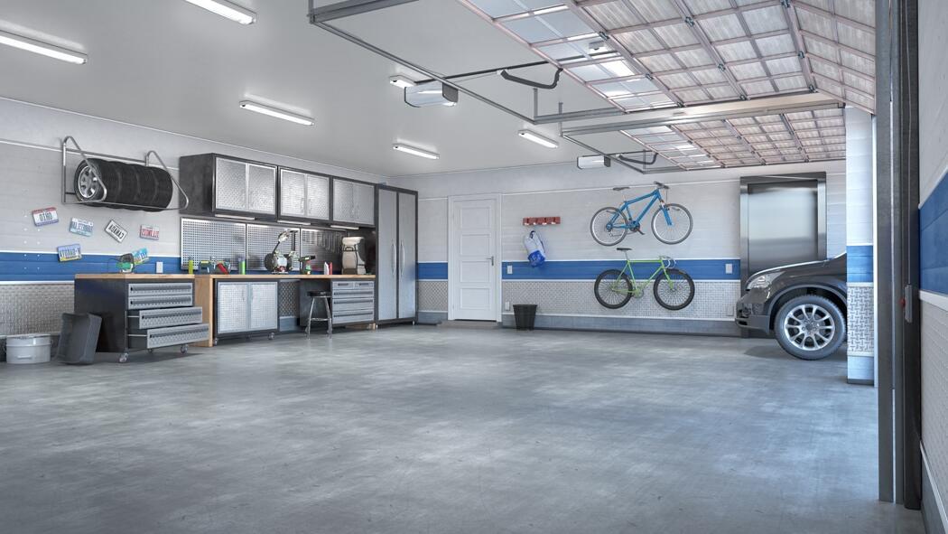 Quel éclairage dans un garage ?