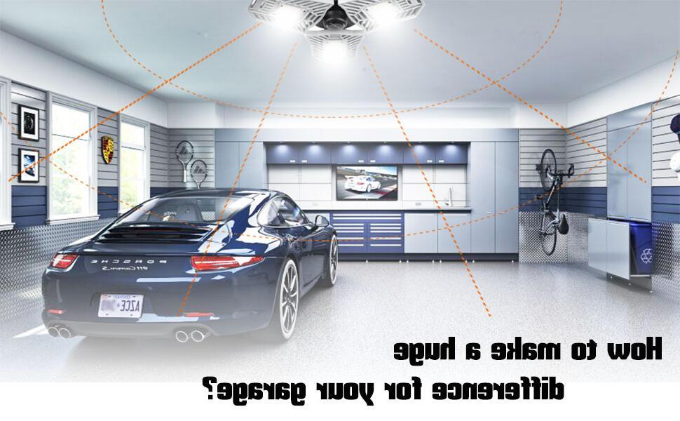 Quel lumière dans un garage ?